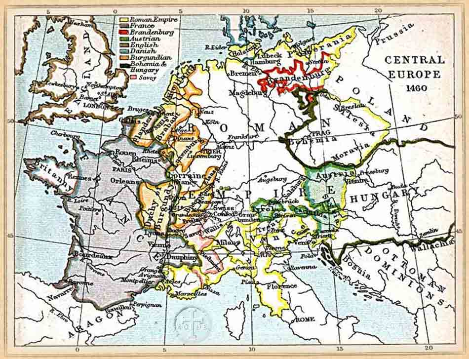 The Kolbe Foundation: Historical Map Collection, Central Europe 1060